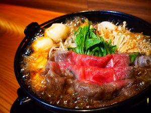 和王牛すき焼き鍋